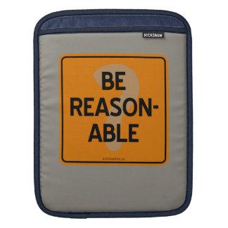 BE REASONABLE? iPad SLEEVE