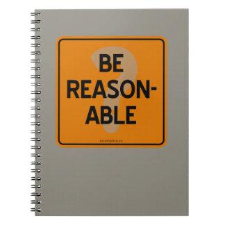 BE REASONABLE? NOTEBOOK