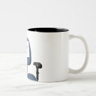 Be Right Back Two-Tone Coffee Mug