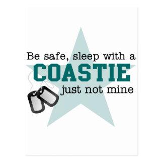 Be safe Coastie Postcard