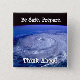 Be Safe Hurricane Button