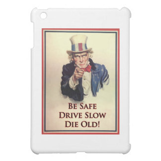 Be Safe Uncle Sam Poster iPad Mini Cases