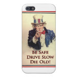 Be Safe Uncle Sam Poster iPhone 5 Cases