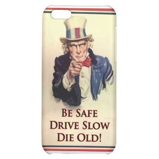 Be Safe Uncle Sam Poster Case For iPhone 5C