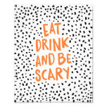Be Scary Spotted | Halloween Art Print Photo Print