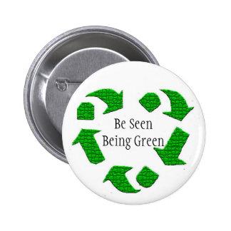 Be Seen Being Green Button