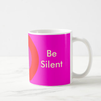 Be Silent The MUSEUM Zazzle Gifts Coffee Mugs