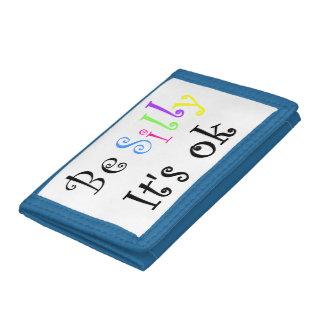 Be Silly It's Ok-wallet Tri-fold Wallet