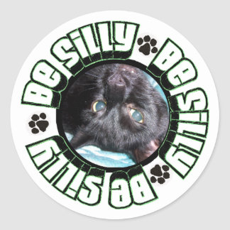 Be Silly Sticker