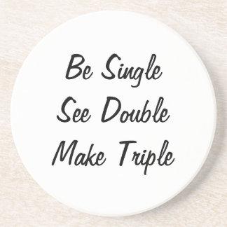Be Single, See Double, Make Triple Coaster