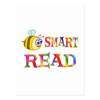 Be Smart, Read Postcard