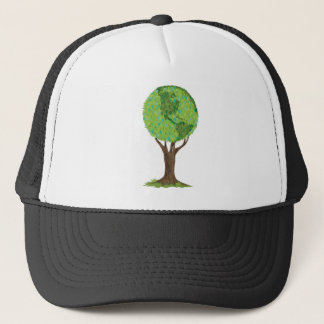 BE SMART RECYCLE TRUCKER HAT
