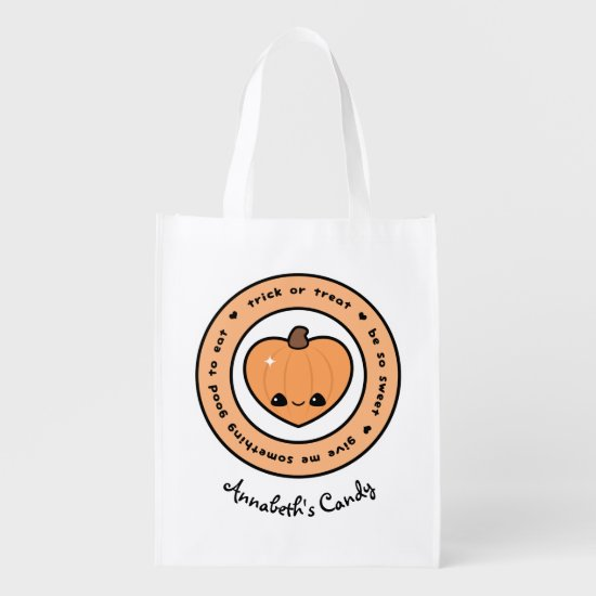 Be So Sweet Trick or Treat Grocery Bag