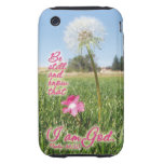 Be Still and Know Psalm 46:10 Bible Verse Quote iPhone 3 Tough Covers