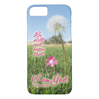 Be Still and Know Psalm 46:10 Bible Verse Quote iPhone 7 Case