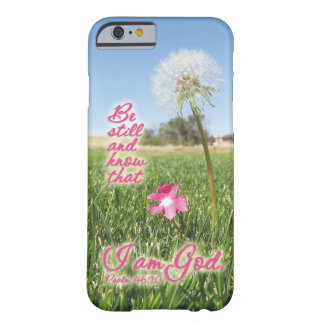 Be Still and Know Psalm 46:10 Bible Verse Quote iPhone 6 Case