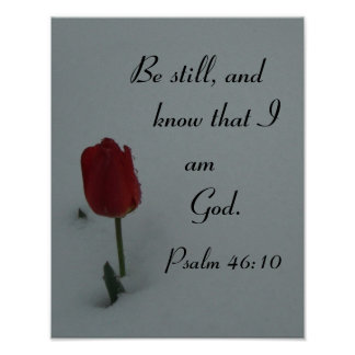 Be still, and know that I ... Poster