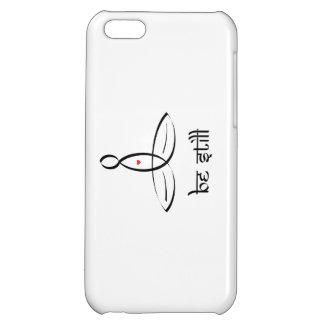 Be Still - Black Sanskrit style Cover For iPhone 5C