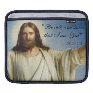 """Be Still"" Custom iPad Sleeve"