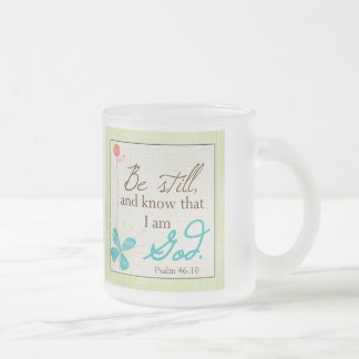 Be Still Custom Mug