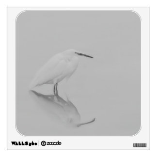 Be still Egret Wall Sticker