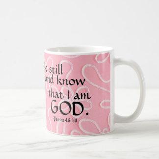Be Still & Know that I am God Christian Mug