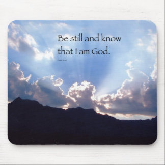 Be Still Mouse Pad