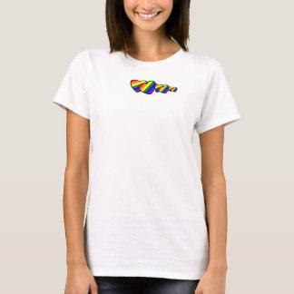 Be Still My Rainbow Heart tshirt - Customized