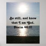 Be Still... Poster
