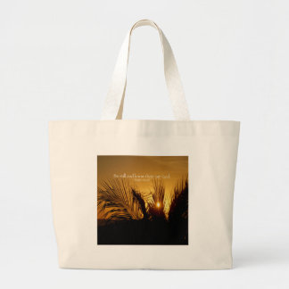 Be Still Sunset Tote Bag