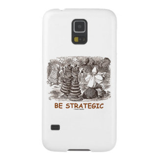 Be Strategic (Through The Looking Glass Chess) Galaxy S5 Case