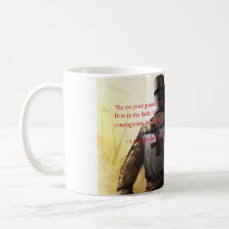 """Be strong"" -1 Corinthians 16:13 Coffee Mug"