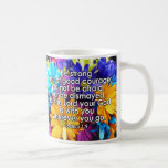 Be Strong Bible Scripture Coffee Mug
