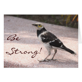 Be Strong! Stationery Note Card