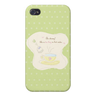 Be Strong Cover For iPhone 4