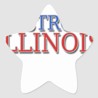 Be Strong Illinois Star Sticker