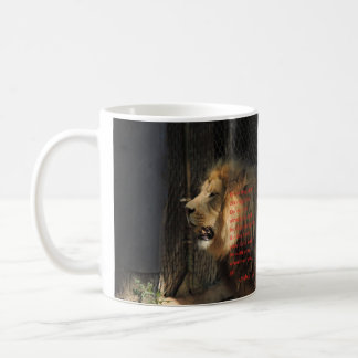 """""""Be strong"""" Joshua 1:9 Coffee Mug"""
