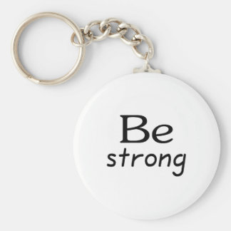 Be Strong Key Chains