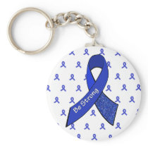 Be Strong Keychain for ME/CFS Warriors