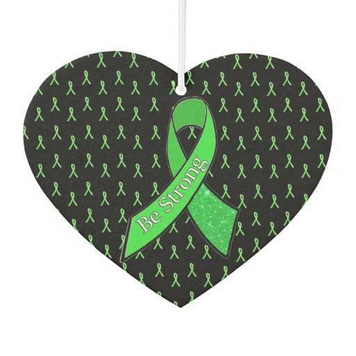 """Be Strong"" Lyme Disease Warrior Car Air Freshener"