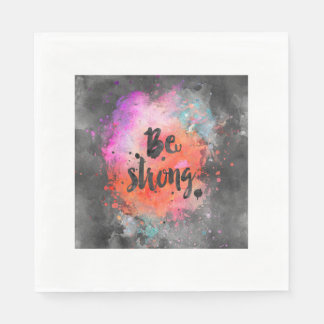 Be strong paper napkin