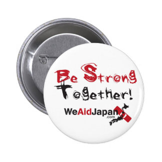 Be Strong Together Bottons みんなでがんばろうボタン Button
