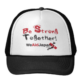Be Strong Together Hat みんなでがんばろうキャップ