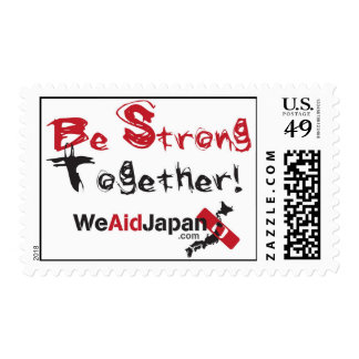 Be Strong Together Stamps みんなでがんばろう切手