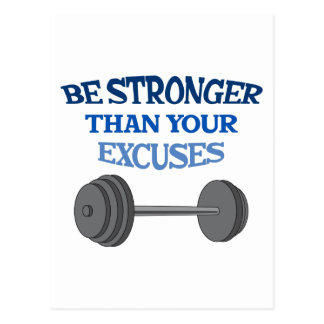 BE STRONGER POSTCARDS