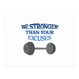 BE STRONGER POST CARDS