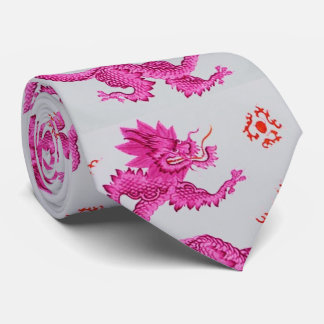 Be sure your Dad is Pretty in Pink Dragons! Neck Tie
