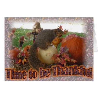 Be Thankful Greeting Card