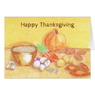 Be Thankful for Vegetables Food Vegetarian Card
