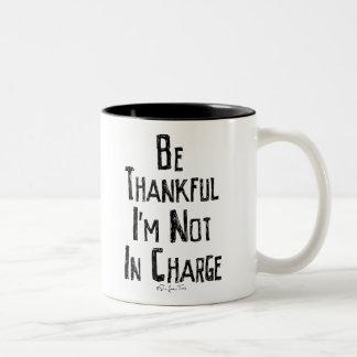 Be Thankful Two-Tone Coffee Mug